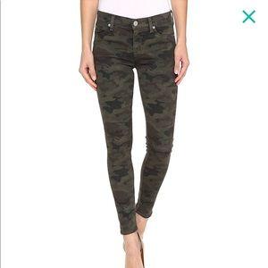 NWOT Hudson Nico Skinny Camo Jeans